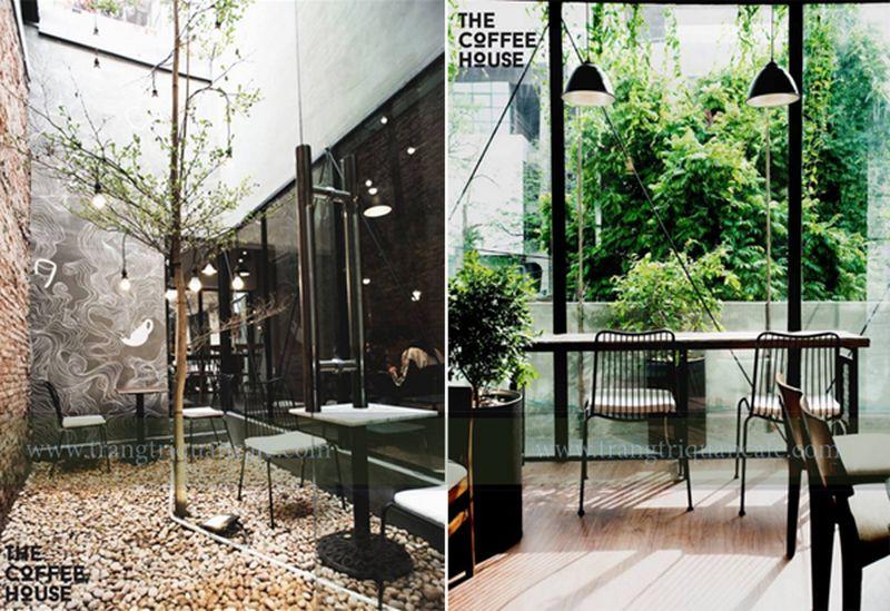Thiết kế quán cafe chuỗi cửa hàng nổi tiếng