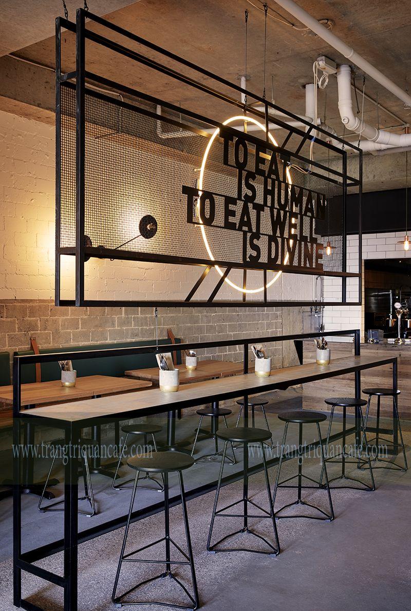 cafe phong cách mộc