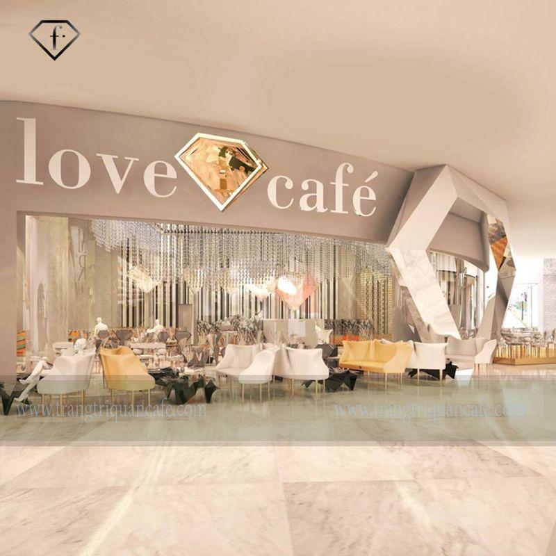 Cafe kim cương độc đáo