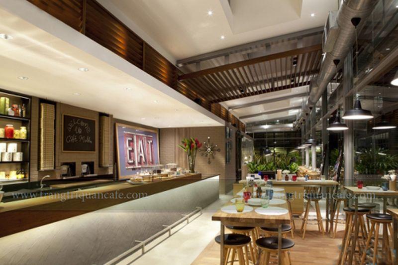 thiết kế quán cafe nhà hàng