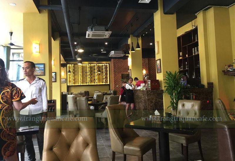 thiết kế cafe đẹp quán Thyme