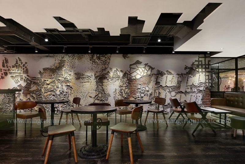 ý tưởng mở quán cafe Urban trong trung tâm thương mại