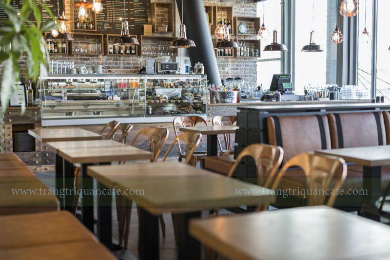 Thuê mặt bằng kinh doanh quán cafe phong cách mộc