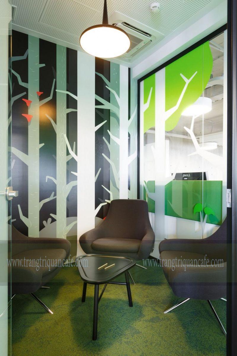 thiết kế quán cafe nhỏ, không gian quầy cafe