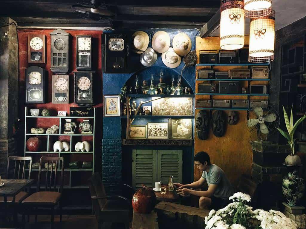 chi phí thiết kế quán cafe vintage