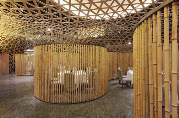 thiết kế quán cafe tre đẹp