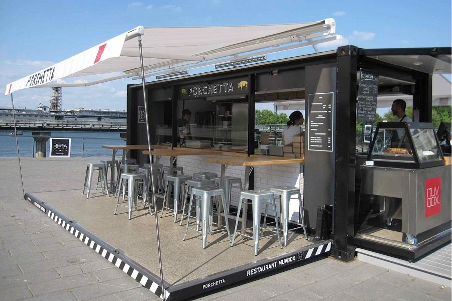 có nên mở quán cafe container 2