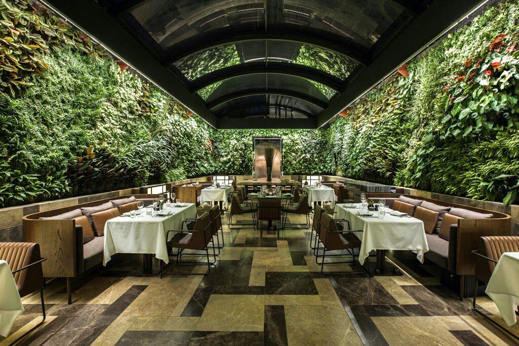 thiết kế quán cafe sân vườn đẹp dành cho công sở