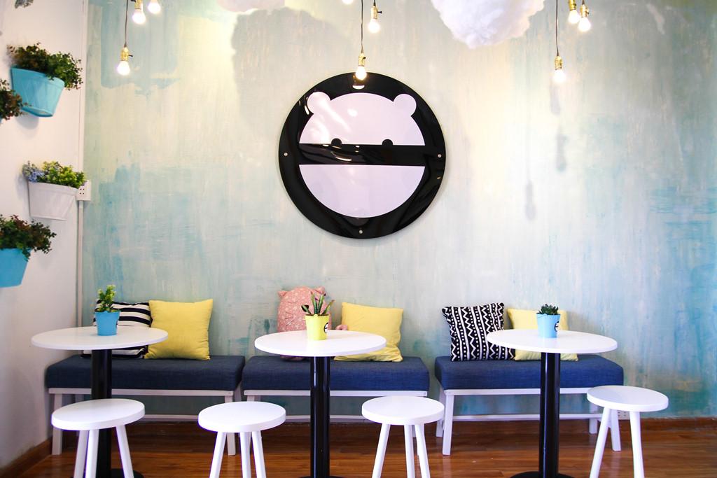 mẫu thiết kế quán cà phê nhỏ xinh lunh linh