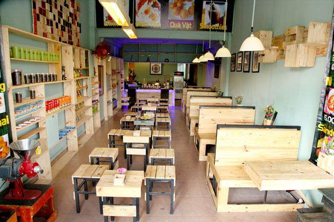 những mẫu thiết kế quán cà phê nhỏ xinh