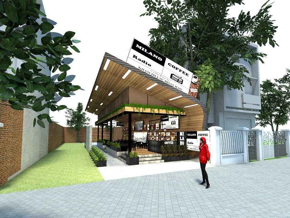 thiết kế quán cafe milano đẹp hoàn hảo
