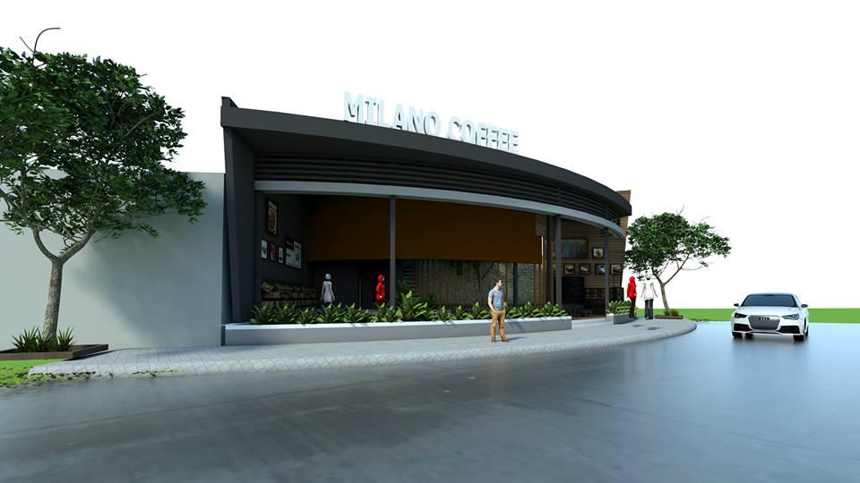 thiết kế quán cafe đẹp milano