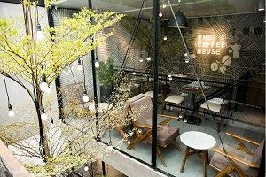 trang trí quán cafe đơn giản