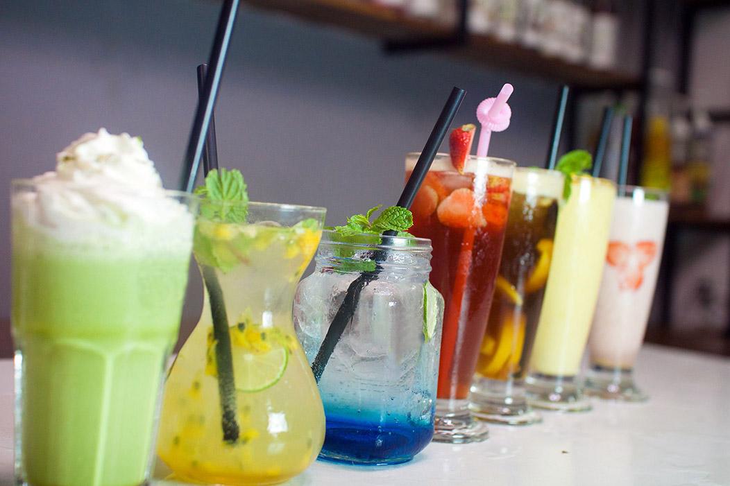 lớp học pha chế đồ uống ở Hà Nội