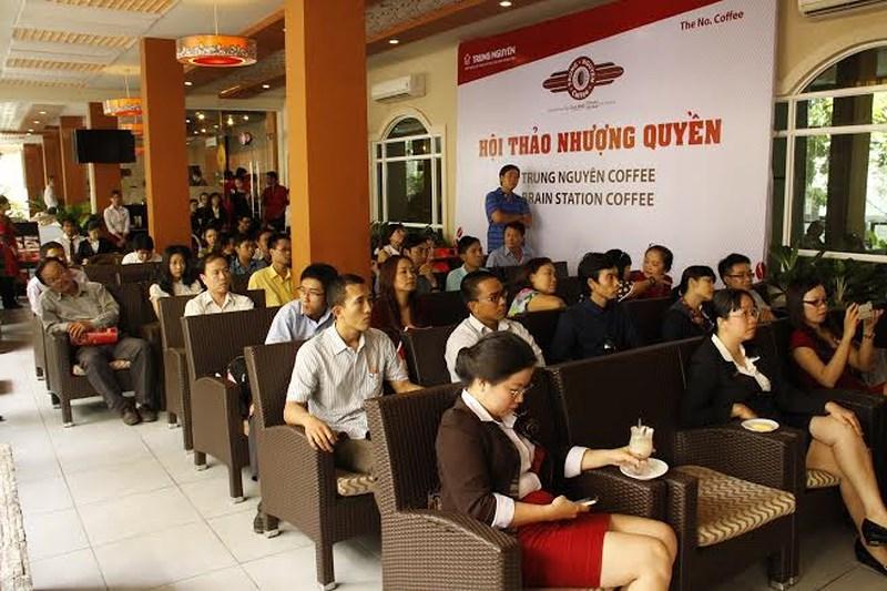 mô hình kinh doanh cafe nhượng quyền