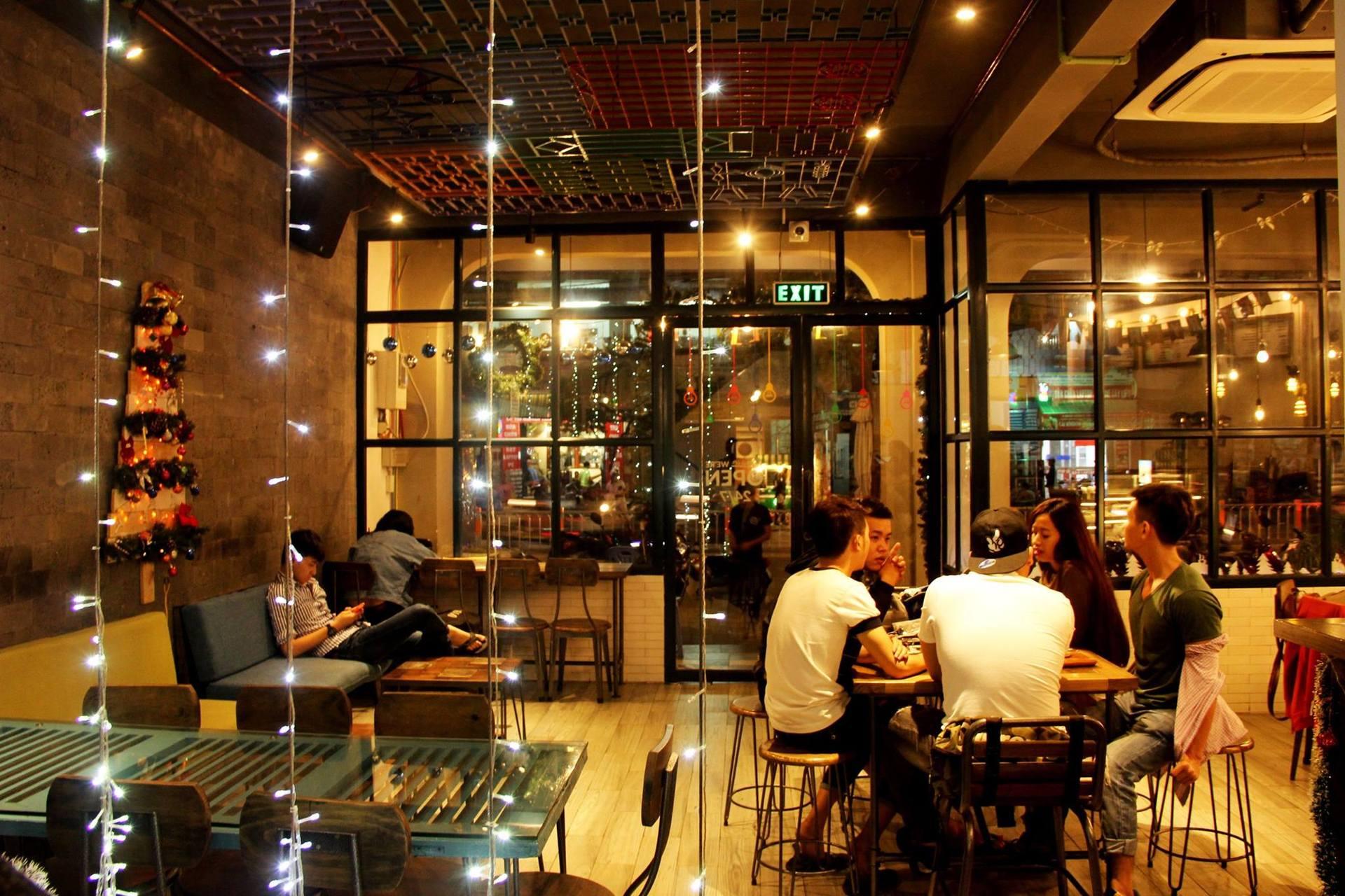 chọn mặt bằng kinh doanh cafe