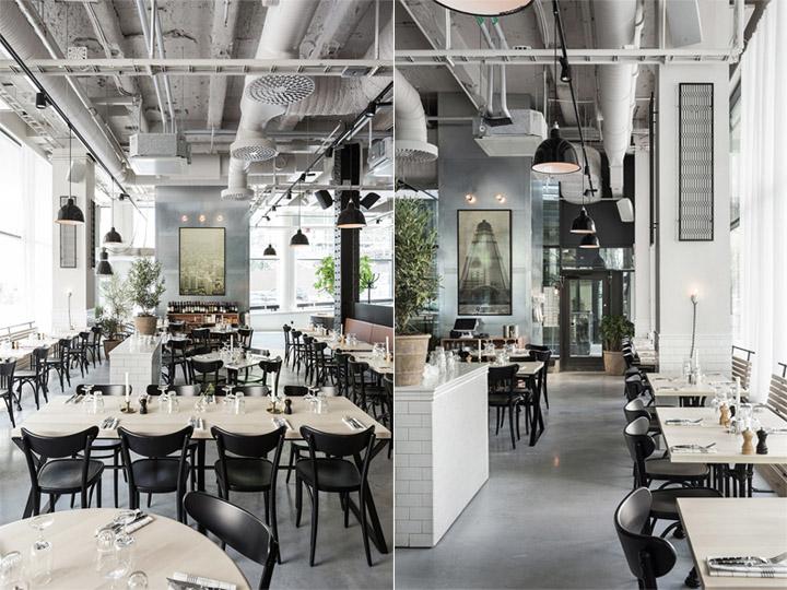 mẫu thiết kế không gian quán cafe đẹp