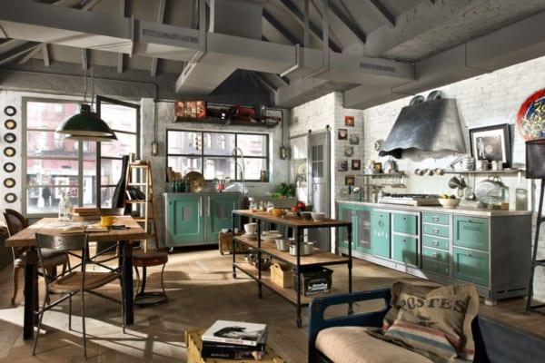 phong cách quán cafe công nghiệp
