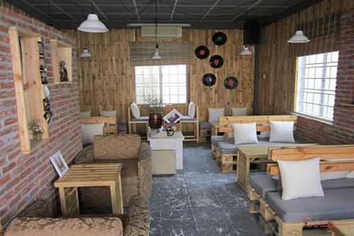 Thiết kế không gian quán cà phê nhỏ đẹp