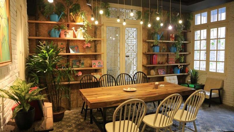 Thiết kế quán cà phê nhỏ đẹp hiện đại