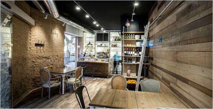 thiết kế quán cafe hiện đại đẹp