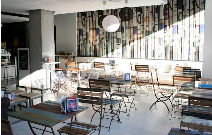 thiết kế quán cafe đẹp hiện đại