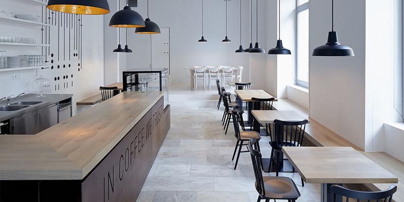 Thiết kế quán cafe nhỏ đơn giản mà đẹp