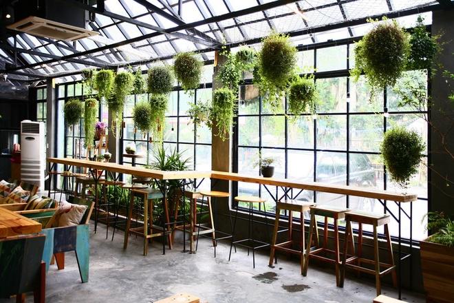 Thiết kế không gian quán cafe nhỏ đơn giản
