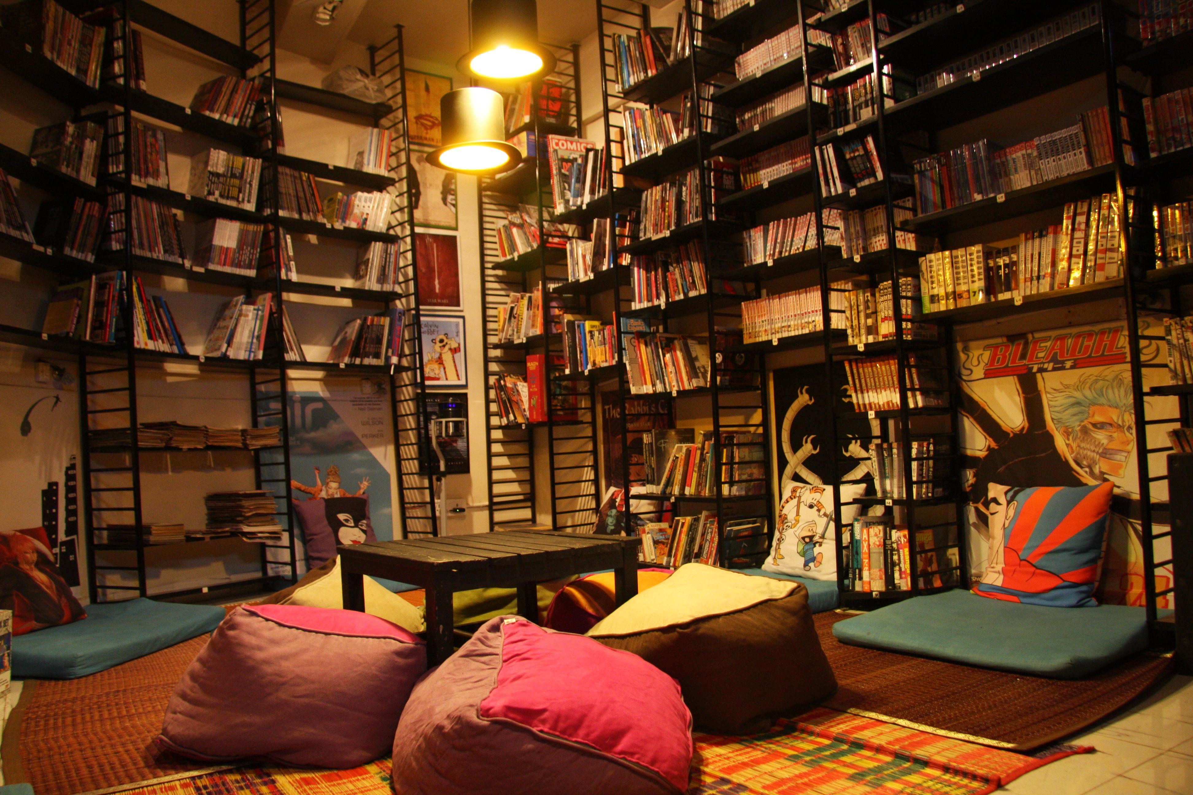 chi phí thiết kế quán cafe sách