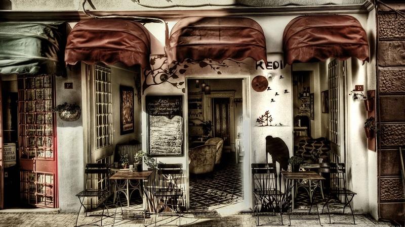 mẫu thiết kế quán cafe take away