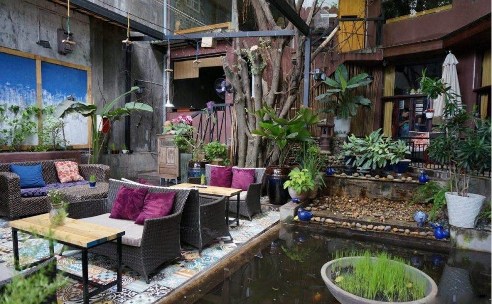 trang trí quán cafe đơn giản đẹp