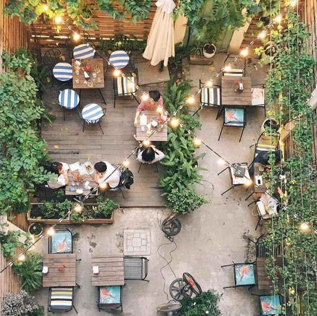 Các mẫu quán cafe đẹp tại Hà Nội