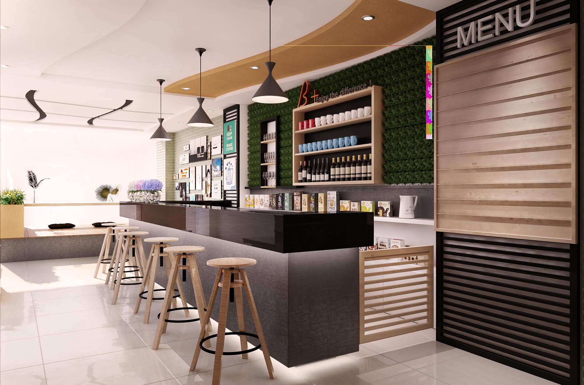 chuyên thiết kế quán cafe đẹp