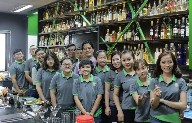 khóa học bartender bao nhiêu tiền