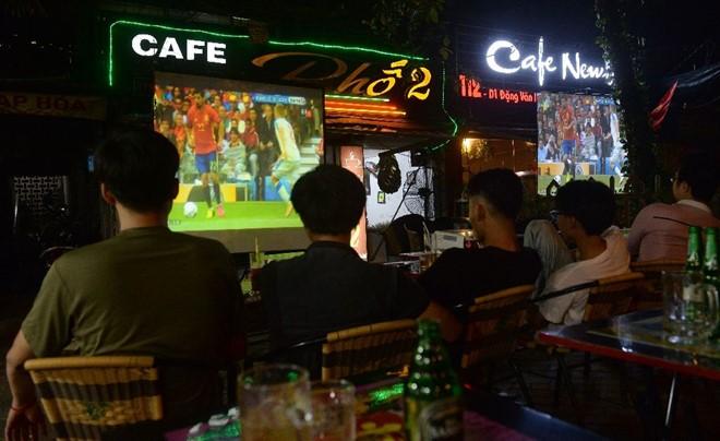 thiết kế quán cafe bóng đá đậm chất thể thao