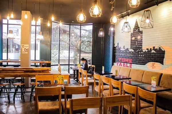 trang trí quán cafe nhỏ xinh đẹp